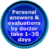 Personal answers from Dr Djinovic can take up to 30 DAYS!