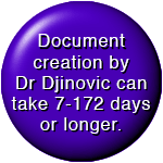 Document creation (invite or invoice) by Dr Djinovic takes up to 172 days
