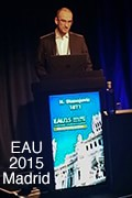 Dr Stanojevic presentation to European Association of Urology Congress in Madrid, March 2015