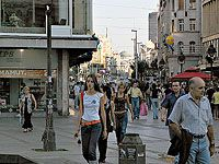 Walking Street in friendly Belgrade