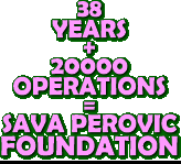 Sava Perovic FOUNDATION: based on over 20000 complex urogenital surgeries spanning 38 years