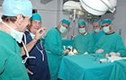 Sava Perovic's hands-on surgeon training